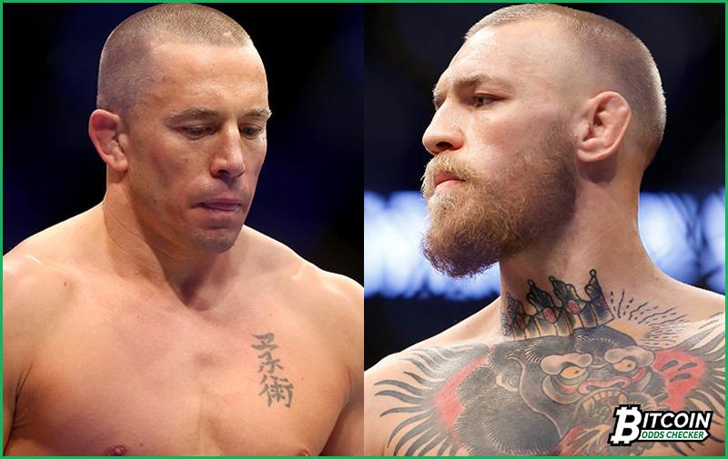 UFC: Early GSP Versus McGregor Bitcoin Odds