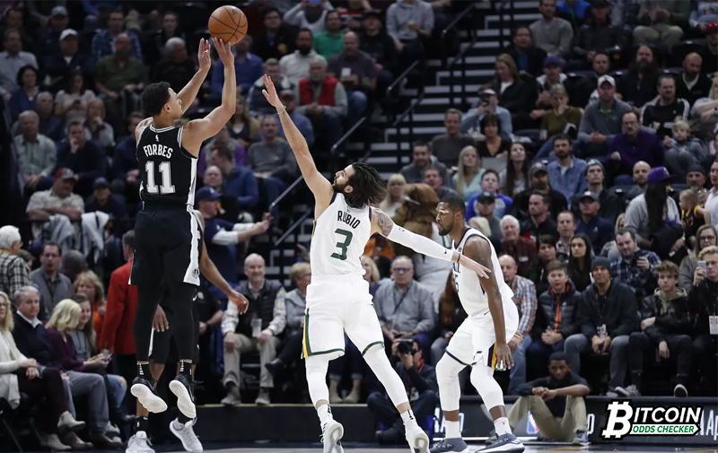 The Utah Jazz Attempt To Extend Win Streak To 10 Against The Spurs