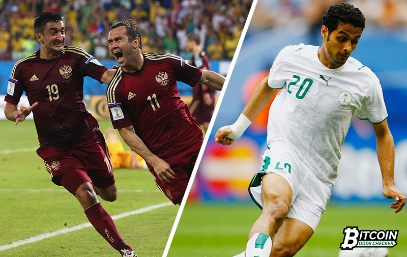 A Glimpse Of The 2018 FIFA World Cup Opening Match: Russia vs Saudi Arabia